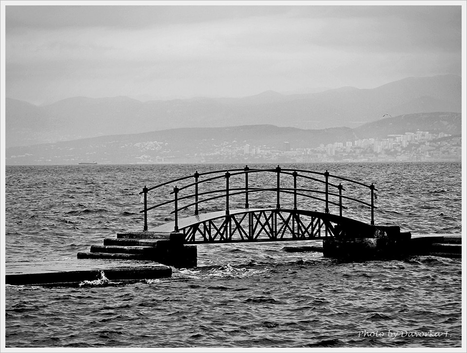 Davorka Trbojević - Troubled sea bridge